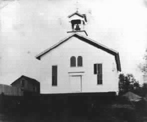 The Church Building in 1870
